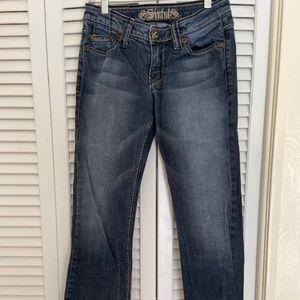 Sinful Women's Boot Cut Jeans